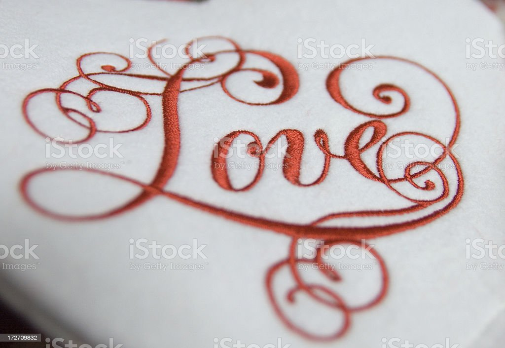 Love is in the air royalty-free stock photo