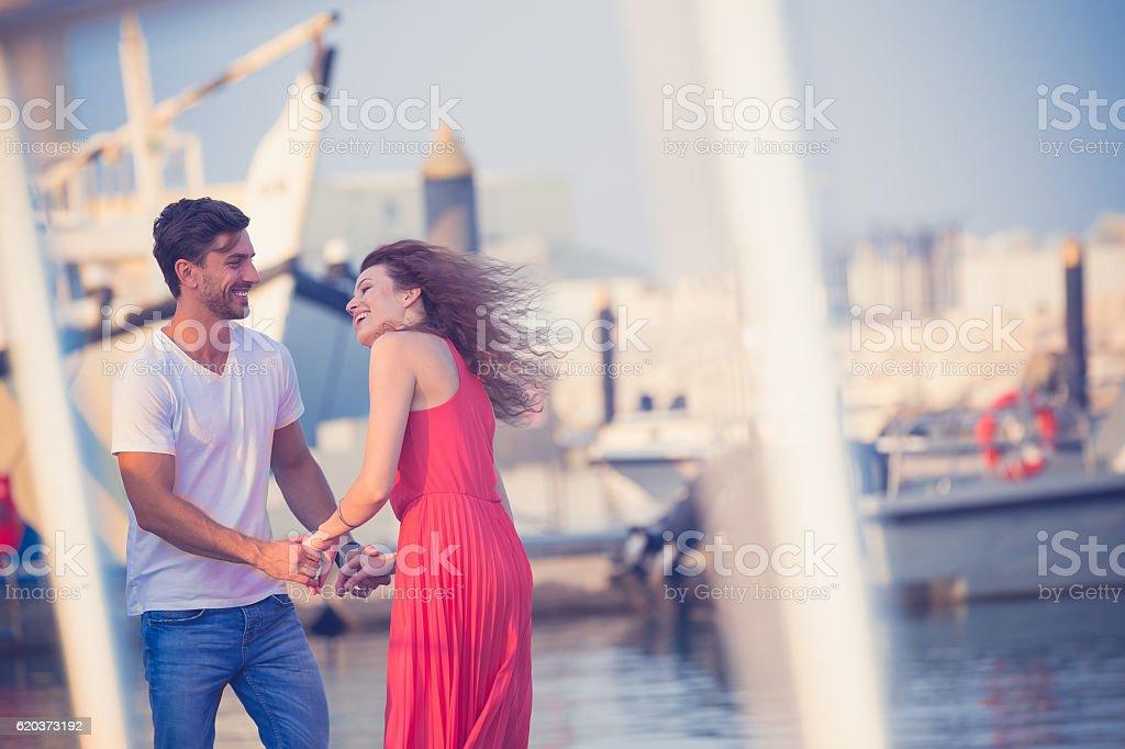 Miłość wisi w powietrzu! zbiór zdjęć royalty-free