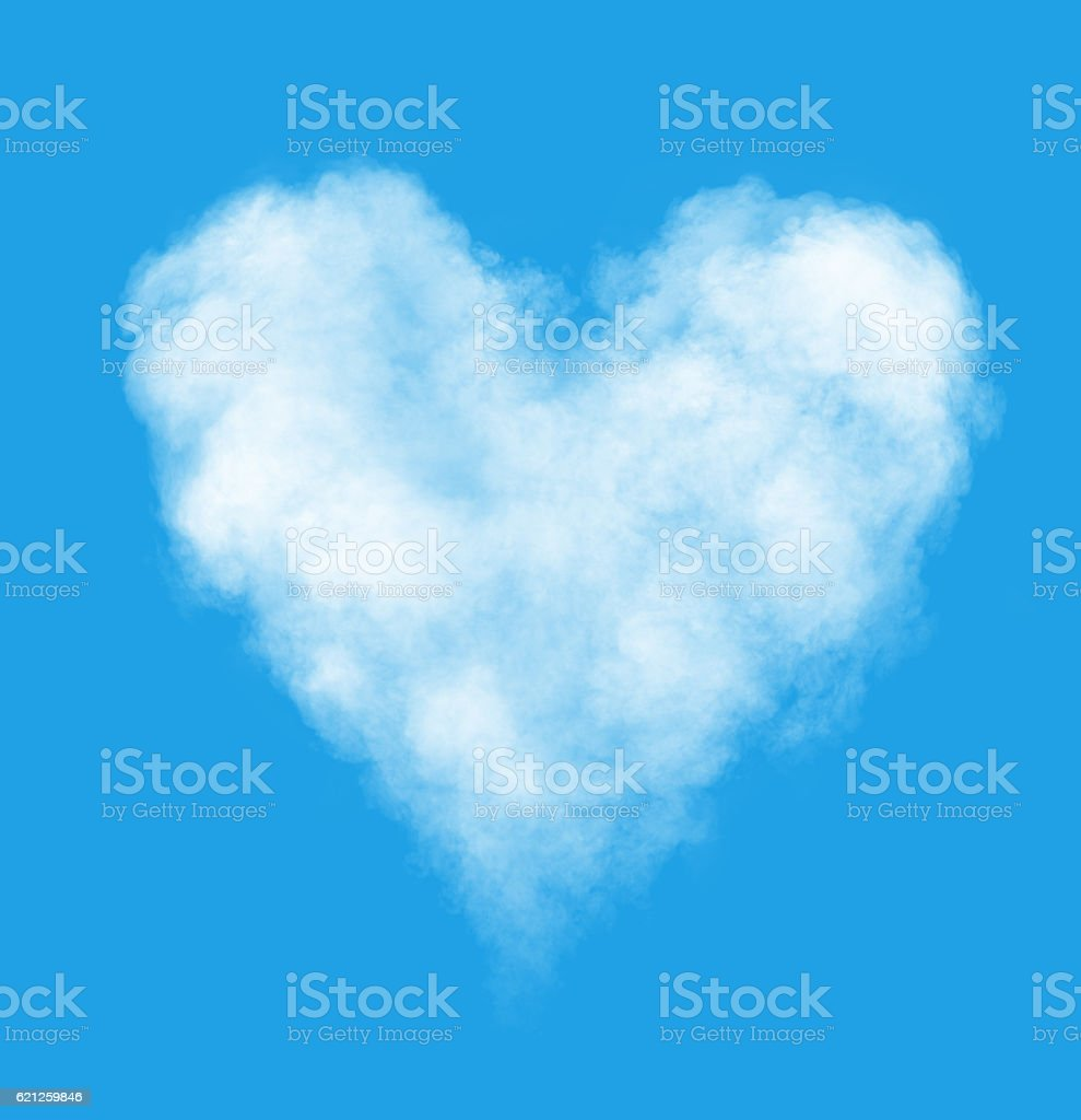 Love is in the air stock photo