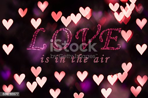 908708148 istock photo Love is in the air with heart bokeh 536285577