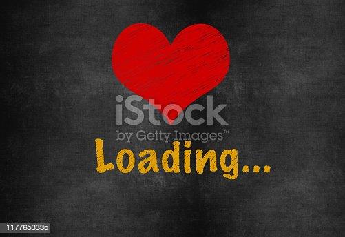 Love Is loading on Blackboard