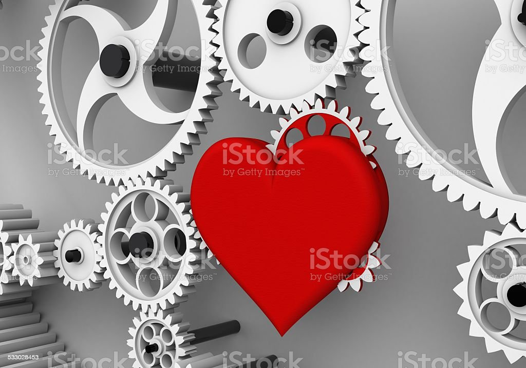 Love is the biggest driving force! stock photo