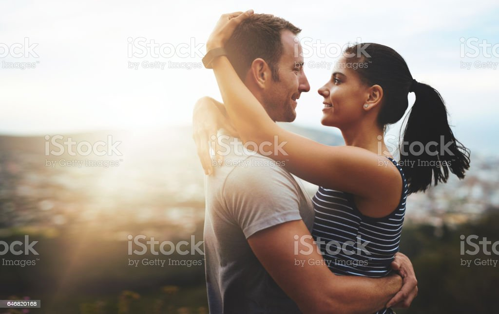 Love is the sunlight of the soul stock photo