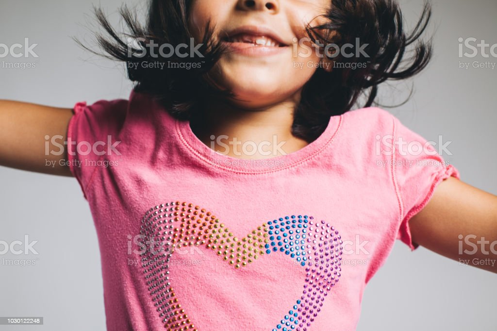 love jumping for joy stock photo