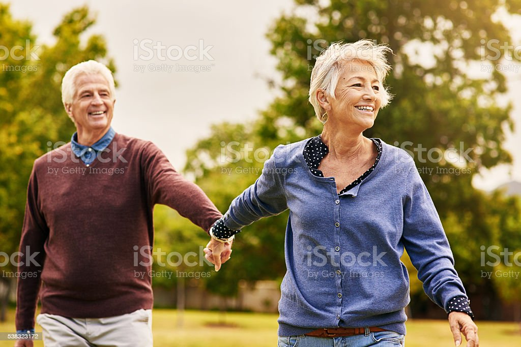 Love keeps a marriage alive stock photo