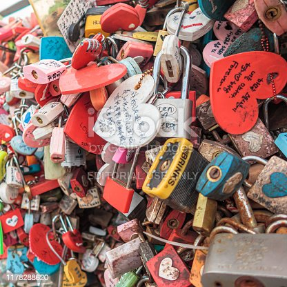 istock Love Key Ceremony at N Seoul Tower, South Korea 1178288620