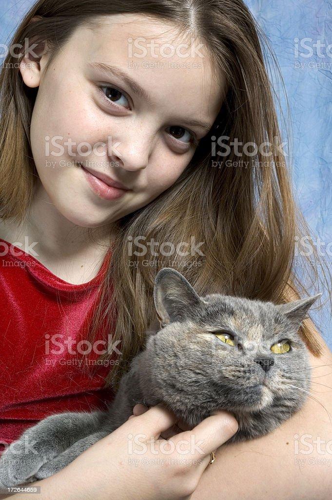I Love Kitty royalty-free stock photo