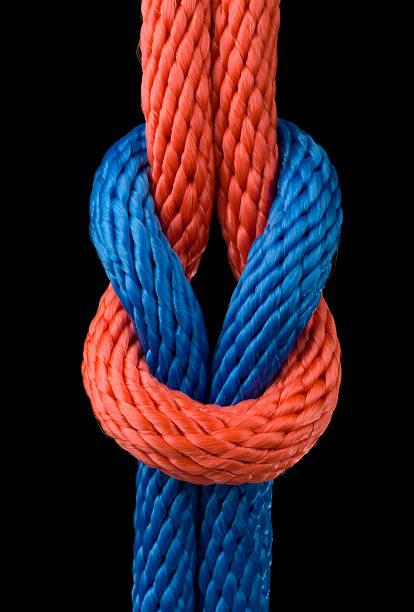 Love knot stock photo