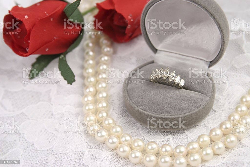 Love & Lace royalty-free stock photo