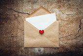 愛の手紙封筒