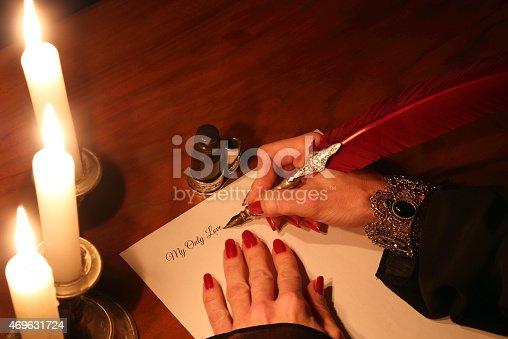 istock Love letter 469631724