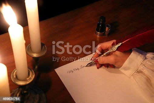 istock Love letter 469634784