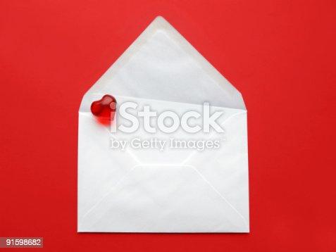 181132670 istock photo Love letter 91598682