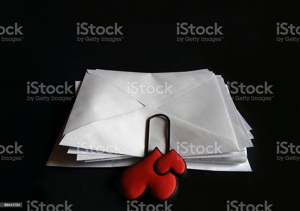 Lettres d'amour 1 photo libre de droits