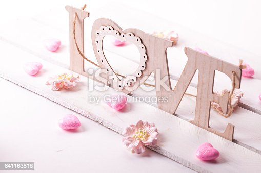 istock love letters on wooden background 641163818