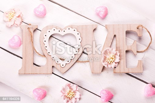 istock love letters on wooden background 641164026
