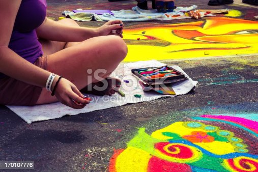 istock Love Local : Lake Worth Florida Street painting festival 170107776