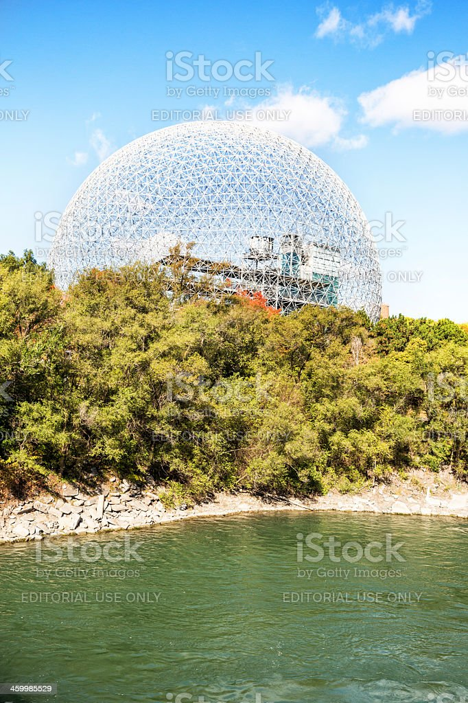 Love local:  Montreal Biosphere stock photo