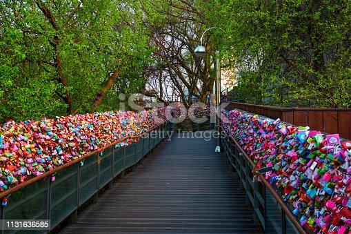 Love Locks at Namsan Seoul Tower, Seoul, South Korea