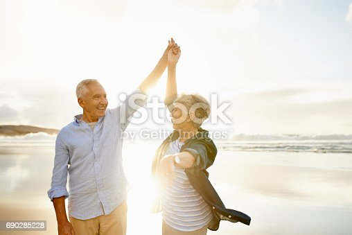 istock Love makes the good times even better 690285228