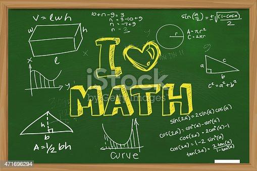 istock I Love Math 471696294
