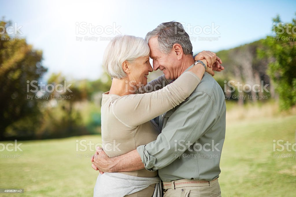 Love Matures With Age Royalty Free Stock Photo