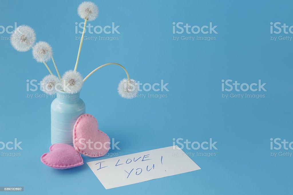 Love message concept. foto de stock libre de derechos