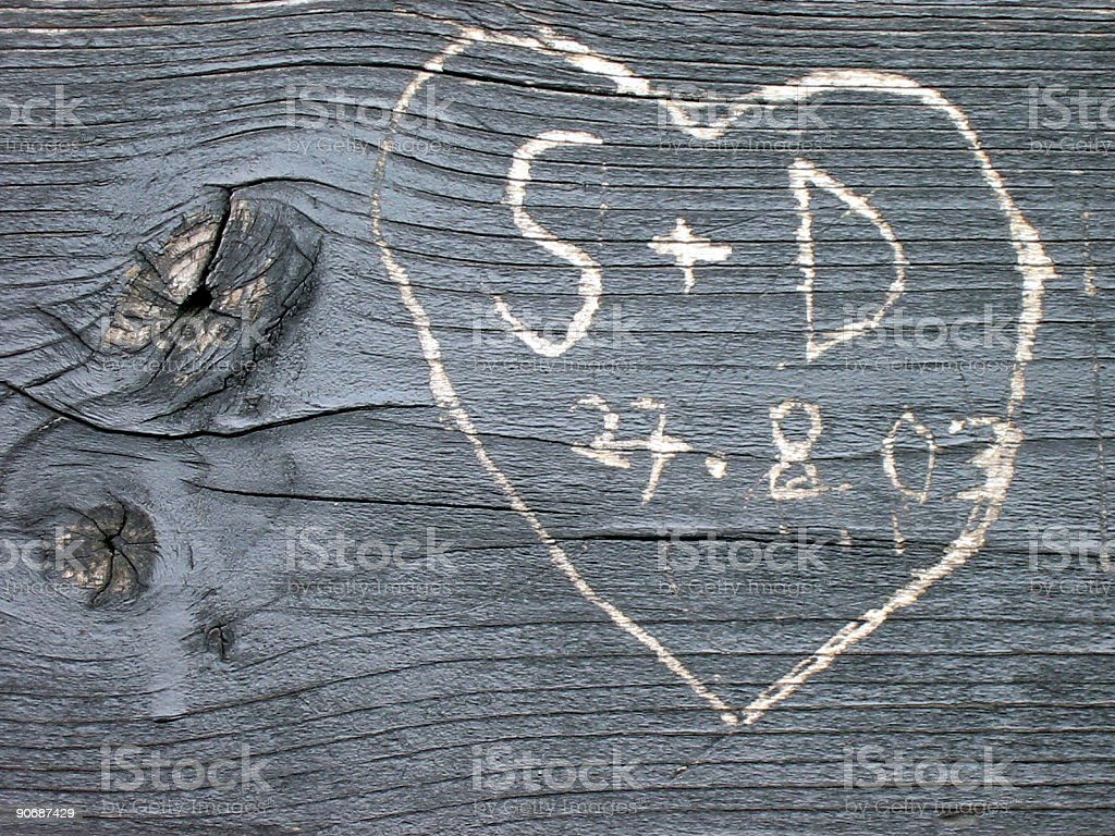 love message II stock photo