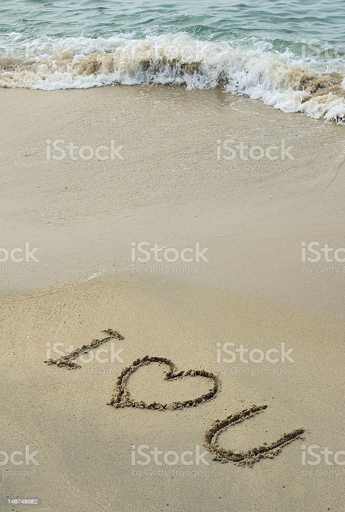 Love Message stock photo