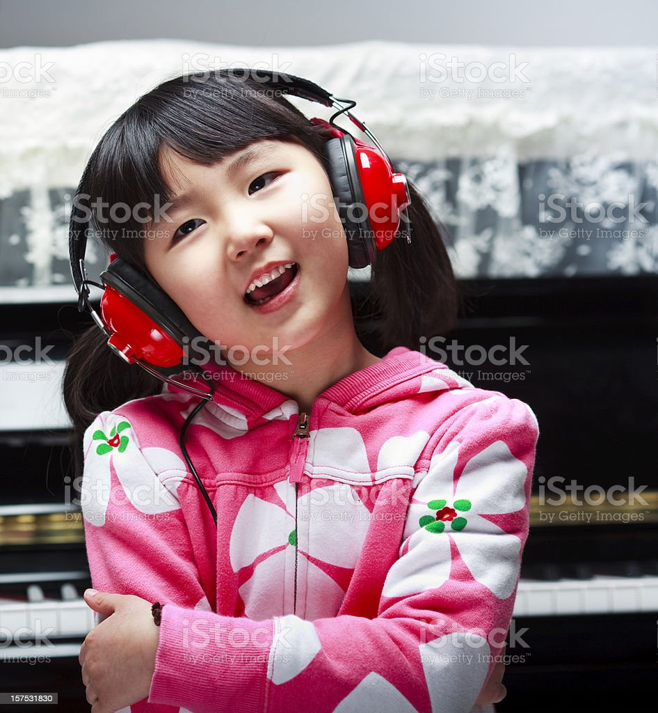 I Love Music royalty-free stock photo