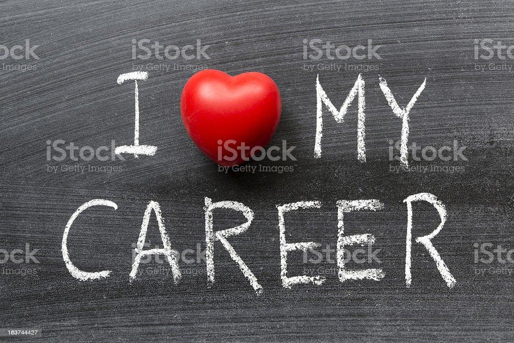 love my career stock photo