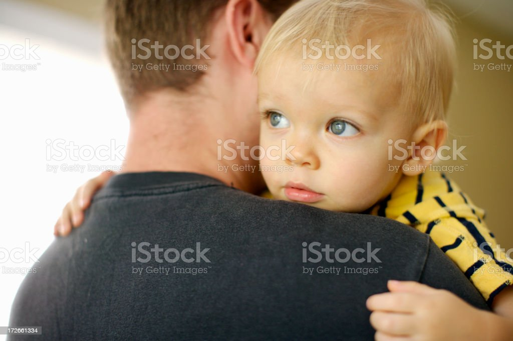Love my dad royalty-free stock photo