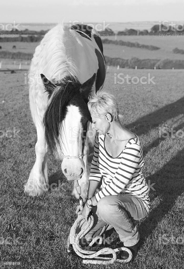 A horse is a friend for life.