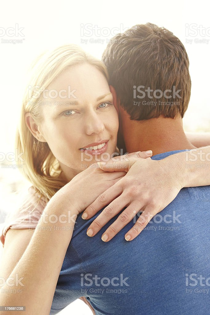 I love my husband so much royalty-free stock photo