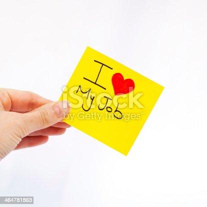 465474428istockphoto I Love My Job 464781863