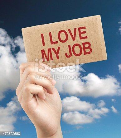 465474428istockphoto I love my job 472322680