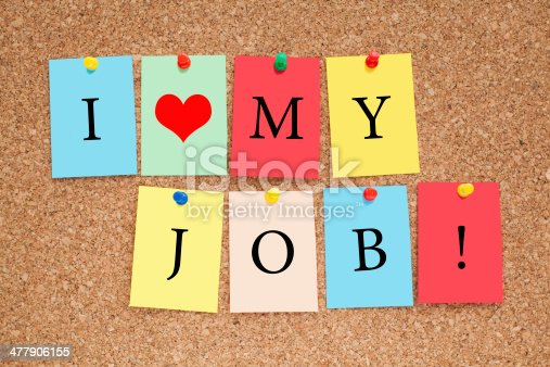 465474428istockphoto I Love My Job 477906155