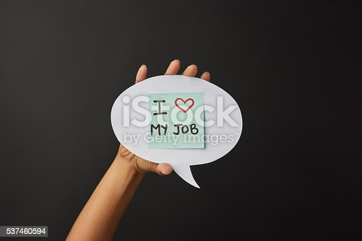 istock I love my job 537460594