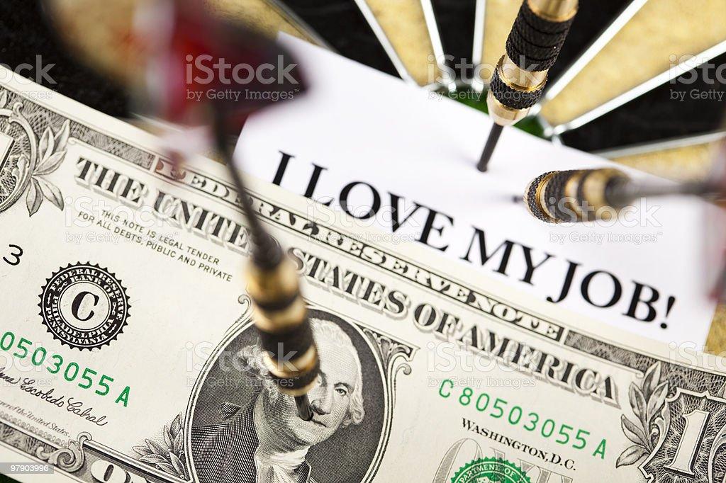 I love my job! royalty-free stock photo