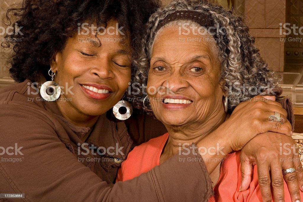 I love my mom royalty-free stock photo