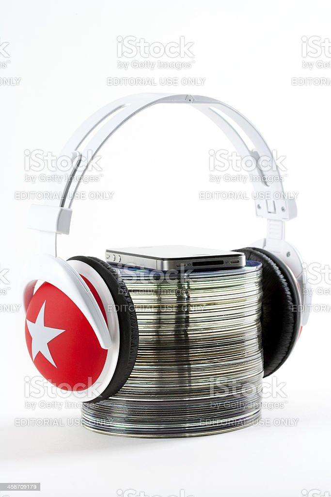 I Love My Music royalty-free stock photo