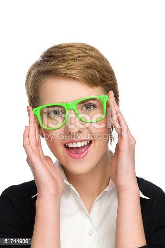510397772 istock photo I love my new glasses. 517449361
