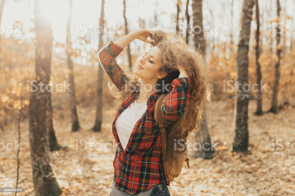 I love nature foto stock royalty-free