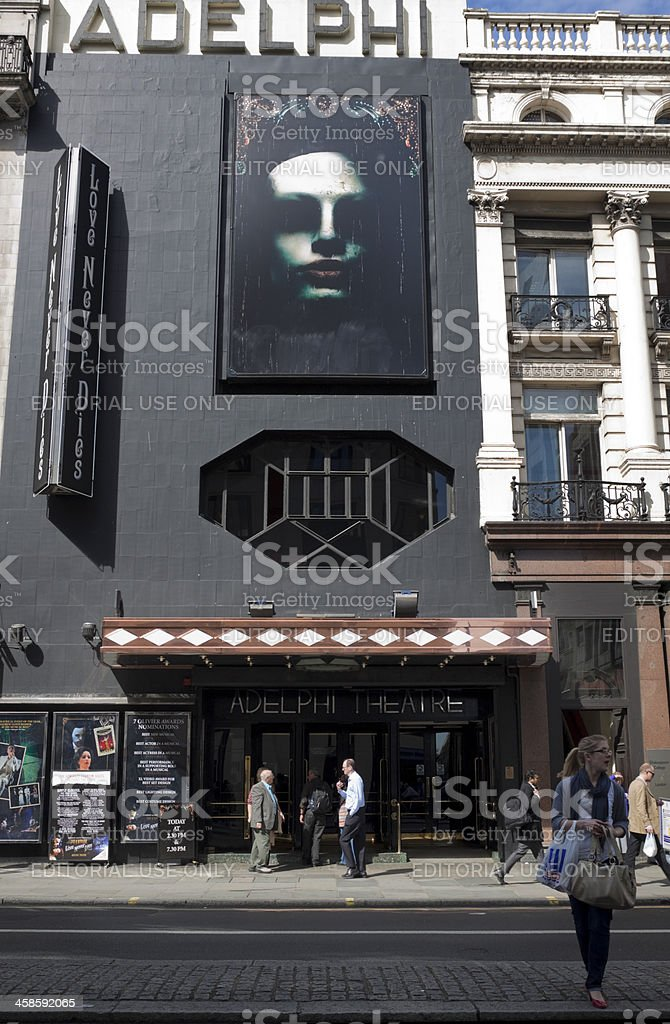 'Love Never Dies' at The Adelphi Theatre, London stock photo