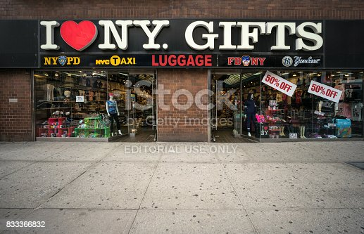 458128003 istock photo I Love New York store 833366832