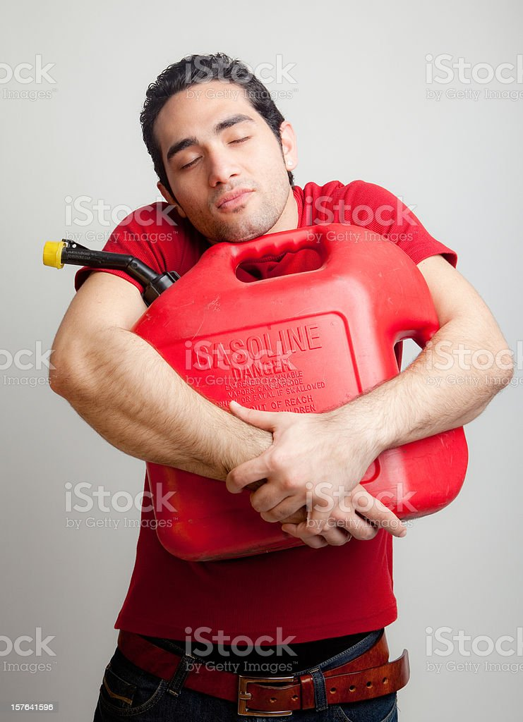 Love of gasoline royalty-free stock photo