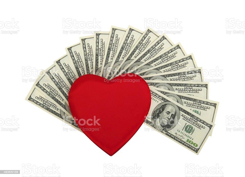 love of money royalty-free stock photo