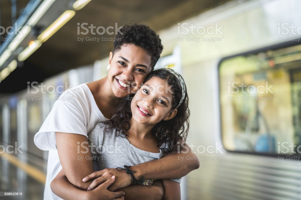 Love of Sisters stock photo