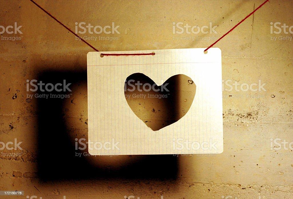 Amor en una cadena - foto de stock