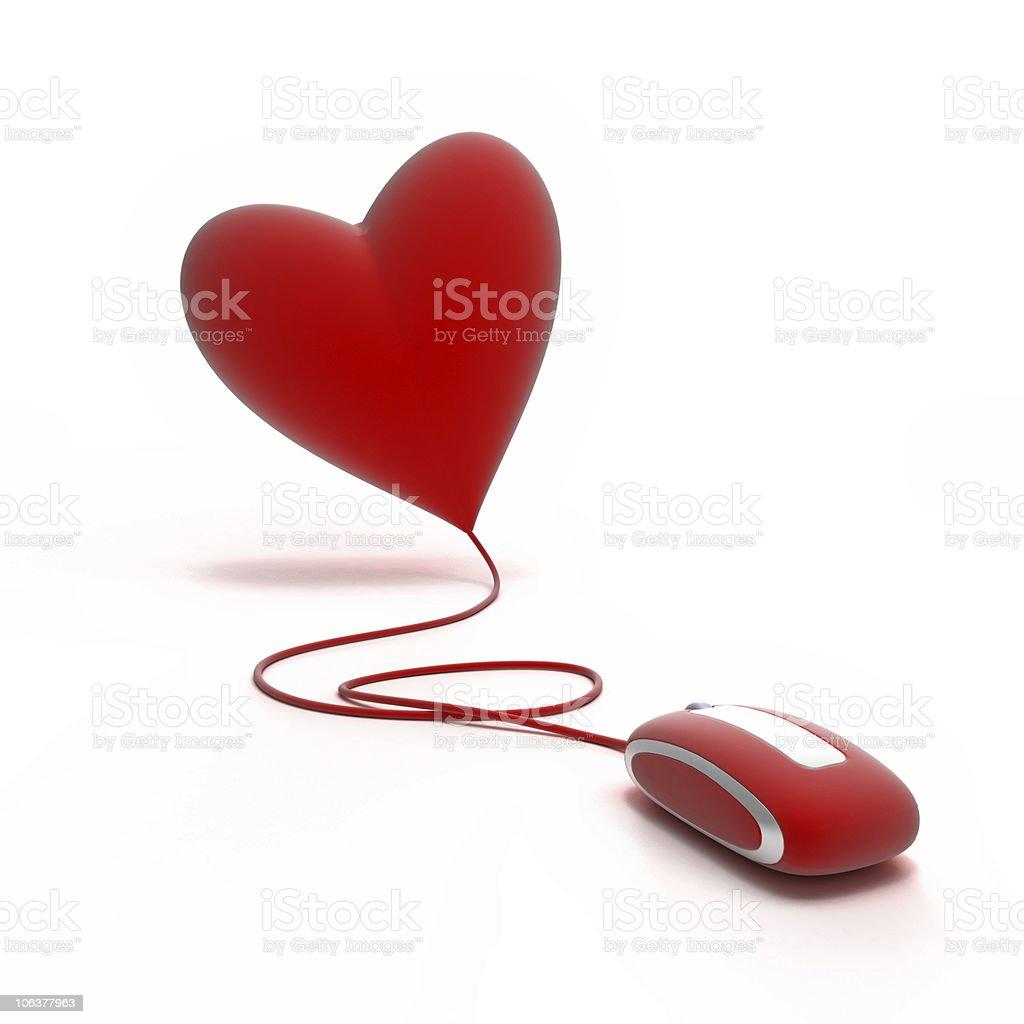 Love online stock photo